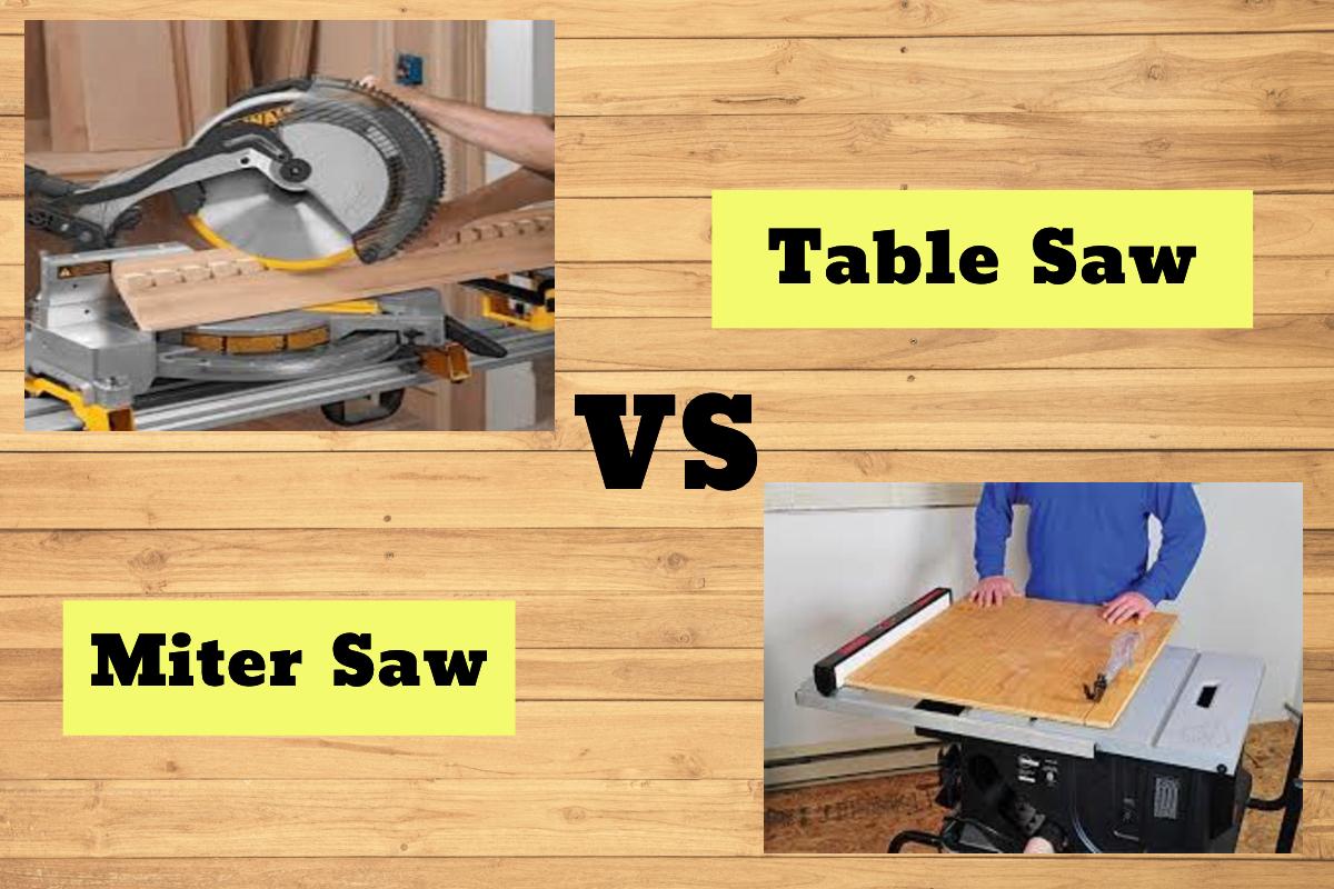 Table vs Miter